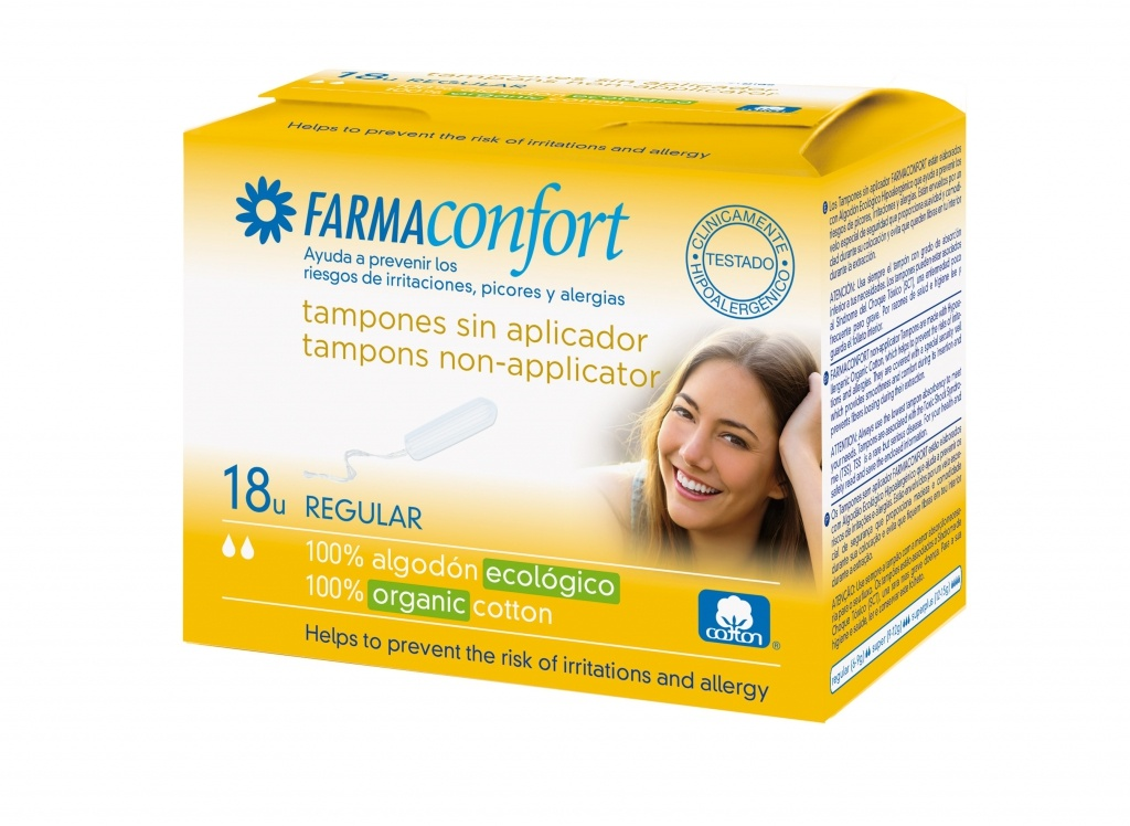 Farmaconfort tampón digital regular 18 unidades