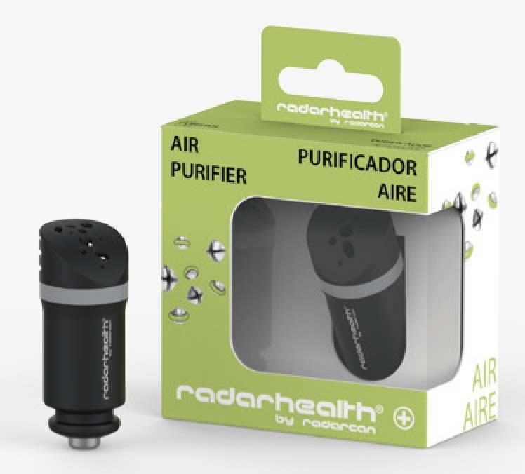 Radar-Health purificador aire coche