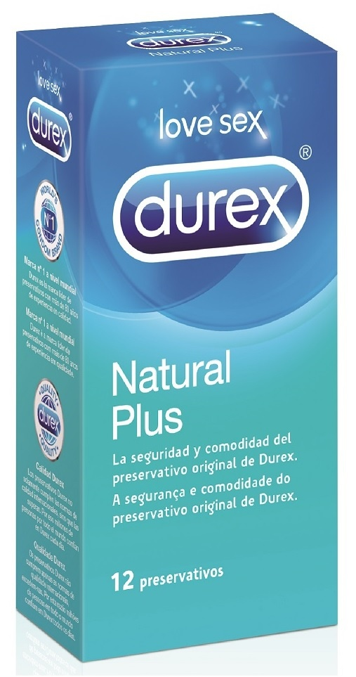 Durex Preservativos natural Easy On 12 unidades