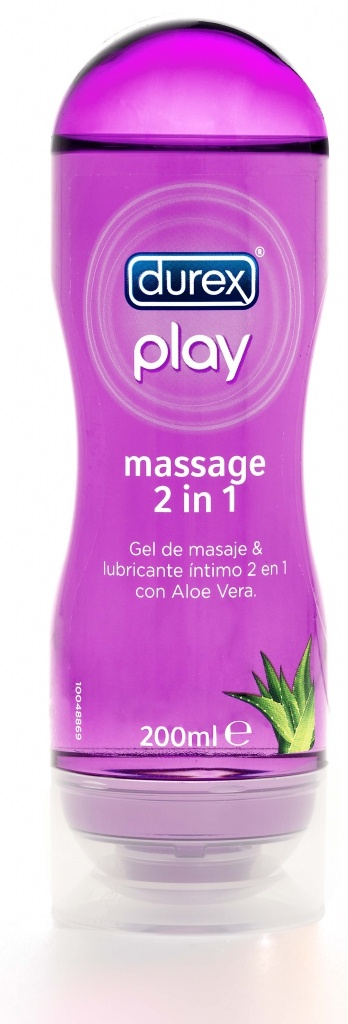 Durex Play Gel Masaje Aloe Vera 2 en 1 200 ml