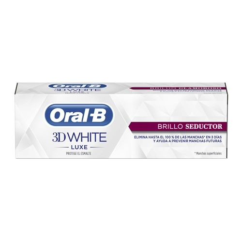 Oral-B pasta dental 3D White brillo seductor 75 ml