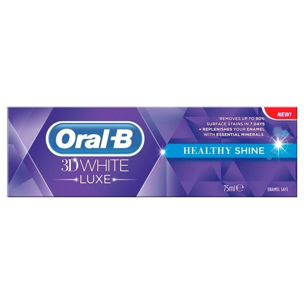 Oral-B pasta 3dw brillo saludable 75 ml