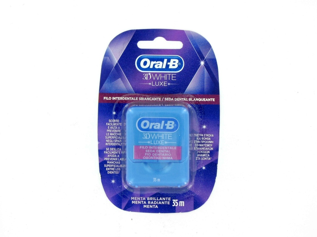 Oral-B seda 3D White menta brillante