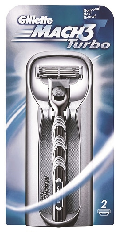 Gillette maquinilla Mach-3 turbo
