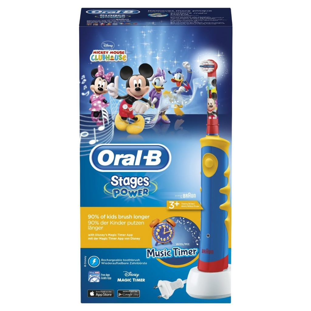 Oral-B cepillo electrico stages mickey