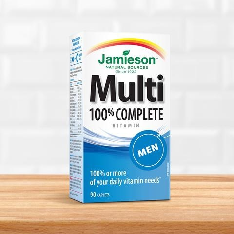 Jamieson Multivitaminas Men 90 comprimidos