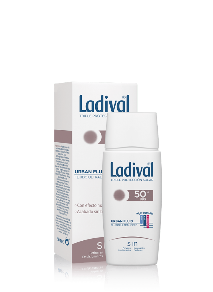 Ladival Protector Solar Urban Fluid FPS50+ 50 ml