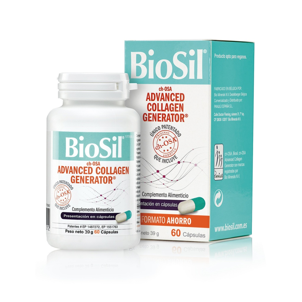 Biosil Advanced Generator 60 cápsulas