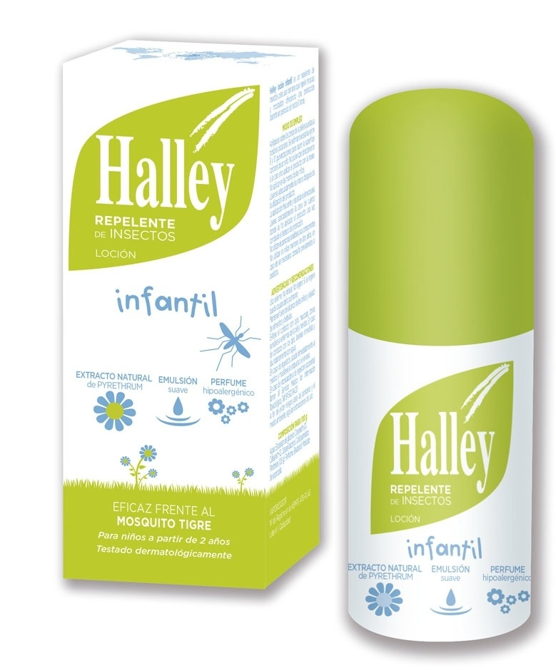 Halley Repelente de Mosquitos Infantil 100 ml