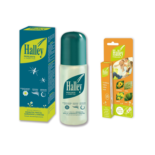 Halley Pack Repelente de Mosquitos 150 ml + PicBálsamo 40 ml