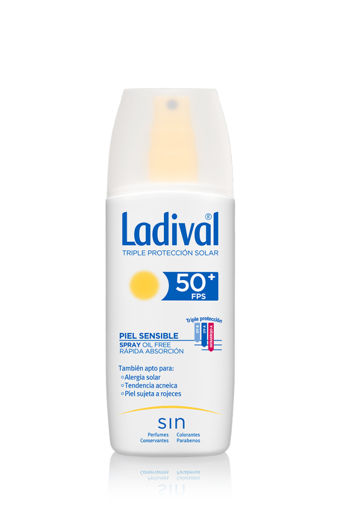 Ladival Spray Adultos Piel Sensible SPF50+ 150 ml