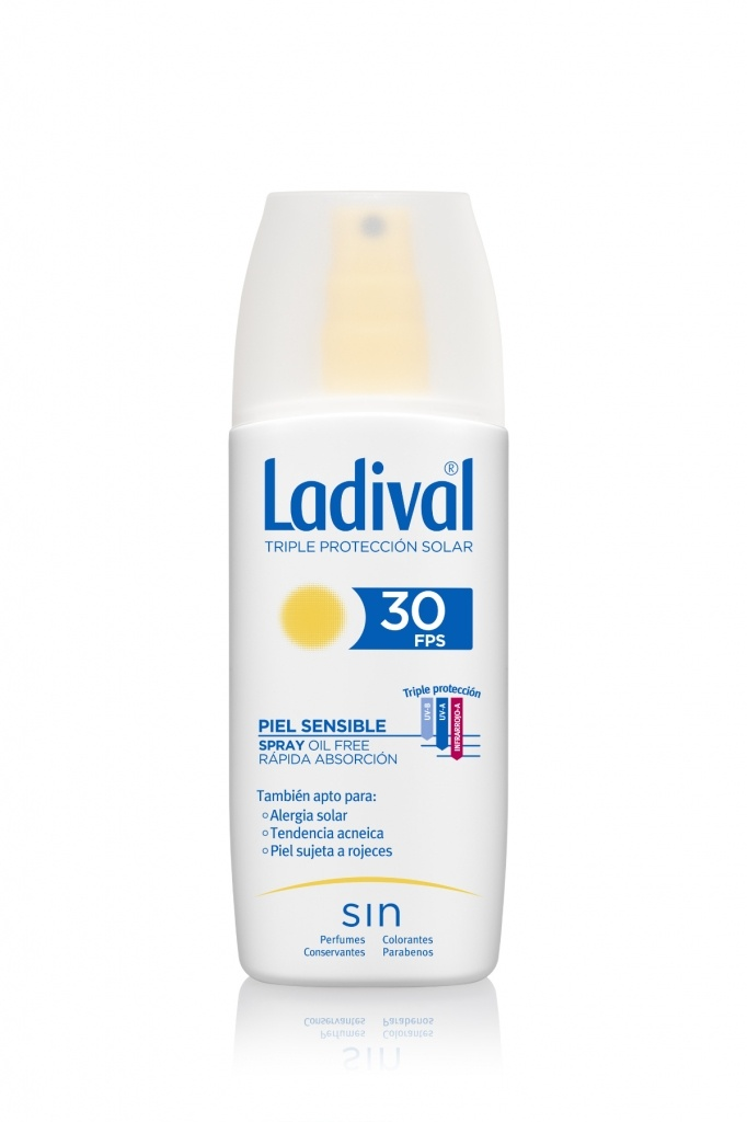 Ladival Spray Adultos Piel Sensible SPF30 150 ml