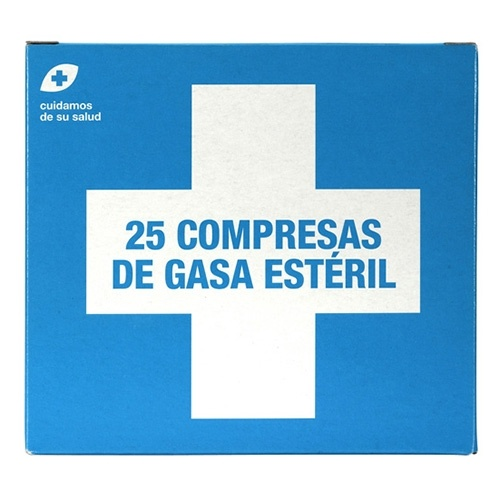 Interapothek Compresas gasa estéril C/25