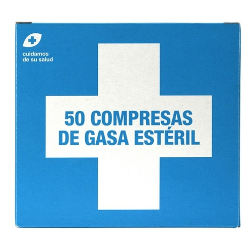 Interapothek Compresas gasa estéril C/50