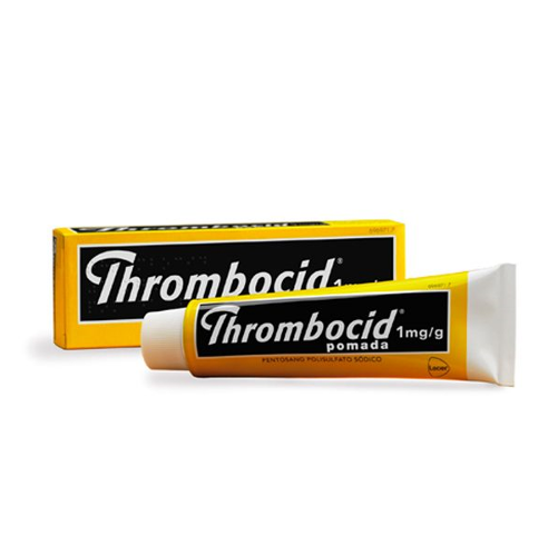 Thrombocid 1 mg/g pomada 60 g