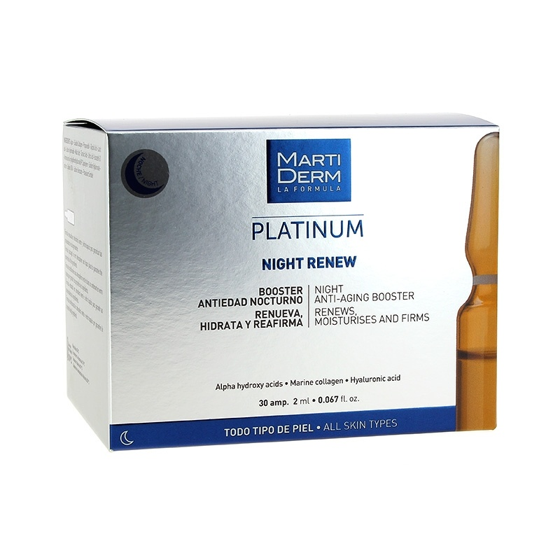 Martiderm Night Renew Antiedad 30 Ampollas