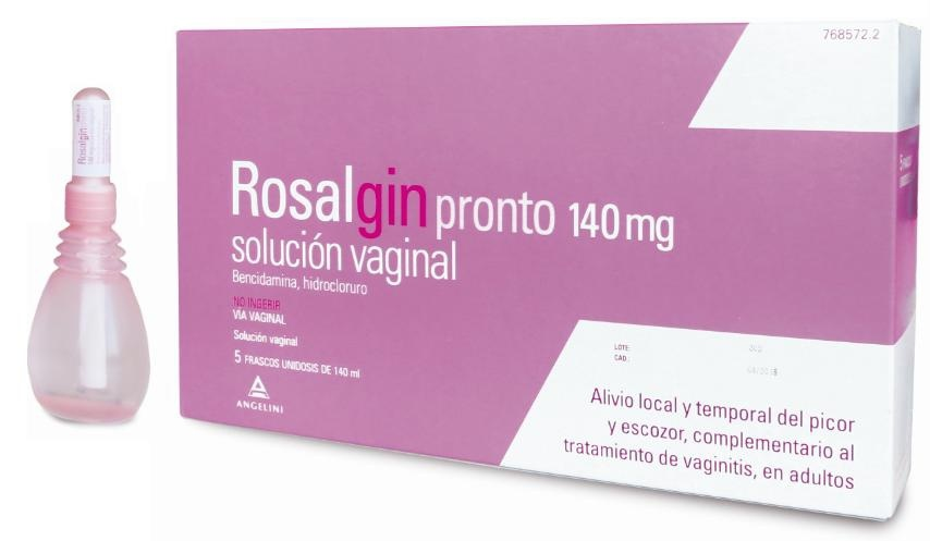 Rosalgin Pronto 5 frascos 140 ml