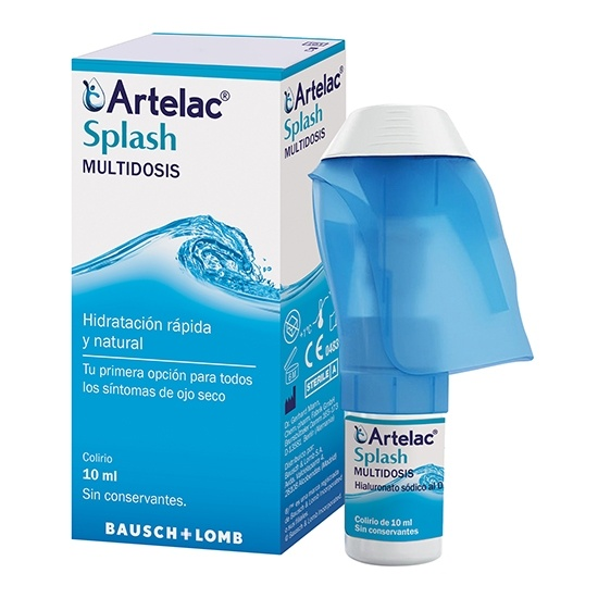 Artelac Splash Lubricante Ocular 10 Ml