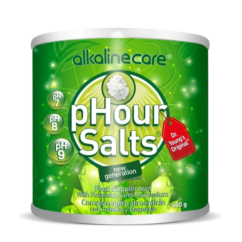 PHours Salts Alkaline Care Sales Minerales 450 g