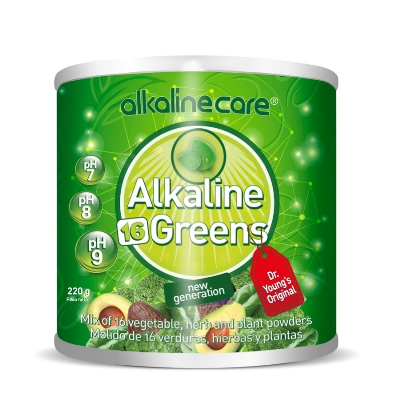 PH Greens 16 Superalimento Alkaline Care 220 g