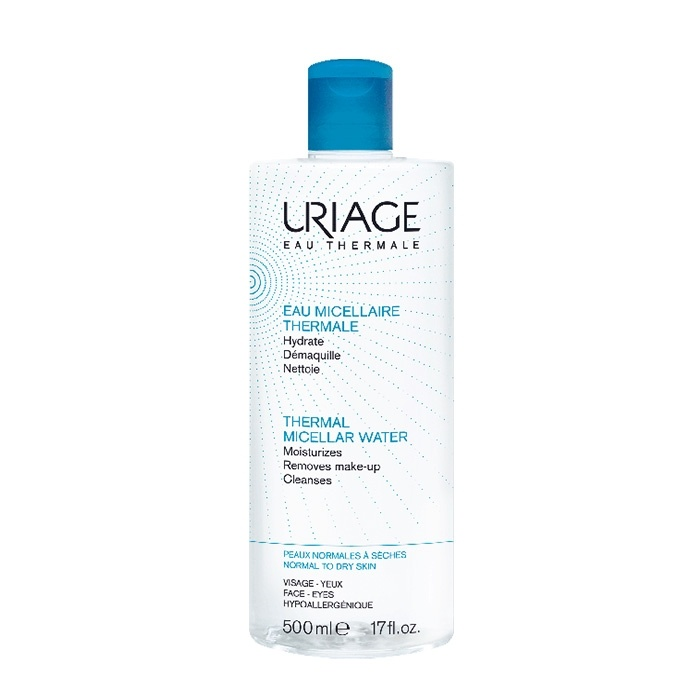 Agua Micelar Uriage Thermal Piel Normal a Seca 500 Ml