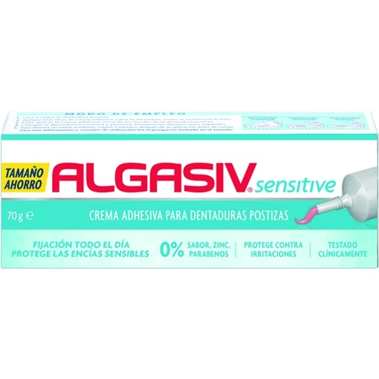 Algasiv Sensitive Crema Adhesiva 70 G