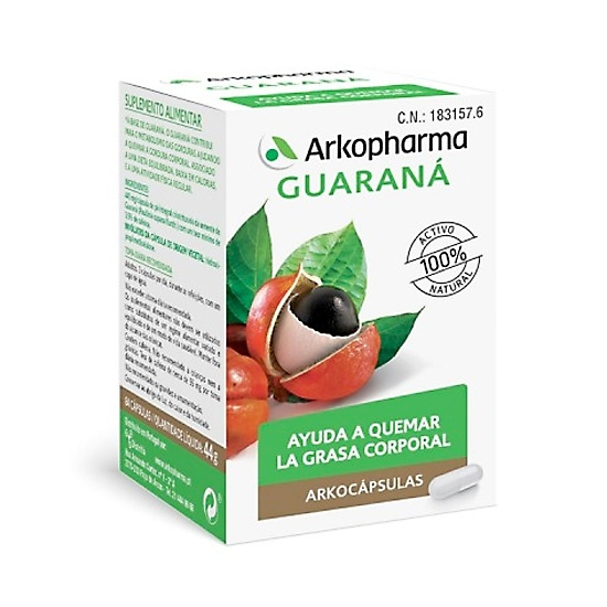 Arkocapsulas Guarana 84  Cápsulas