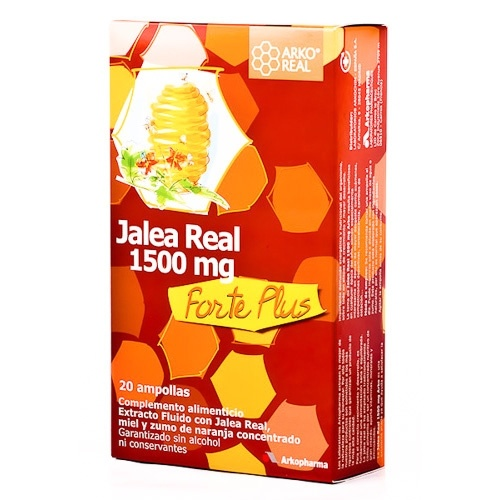 Arkoreal Jalea Real 1500 Mg  20 Ampollas