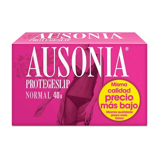 Ausonia Protegeslip Normal 40 unidades