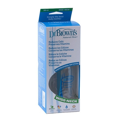 Biberón Boca Ancha Pp Tetina 2 Dr Brown 300 Ml