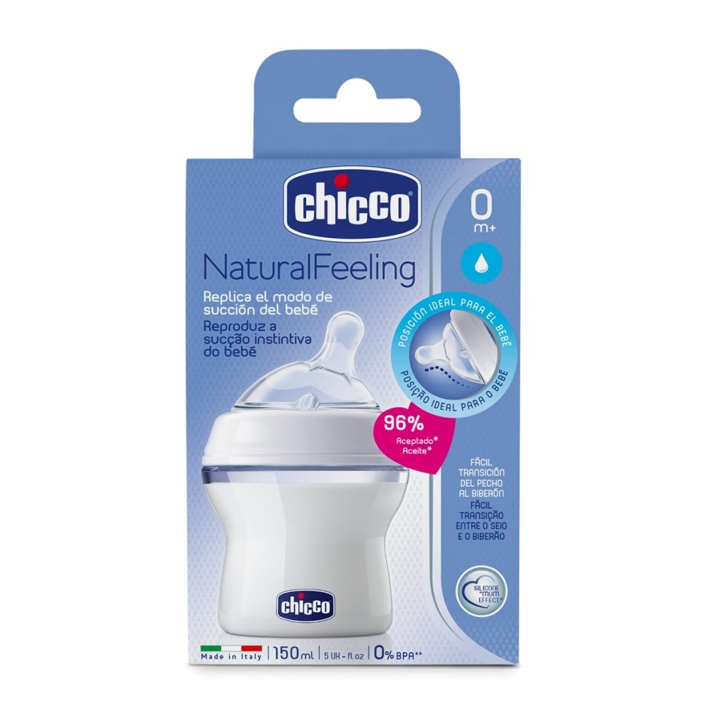 Biberón Chicco Natural Feeling Fn 150 Ml