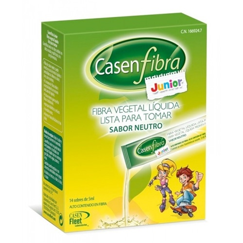 Casenfibra Junior Líquida 14 Sticks 5 Ml