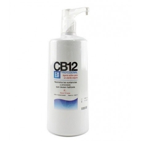 Cb12 Enjuague Bucal Buen Aliento 1000 Ml