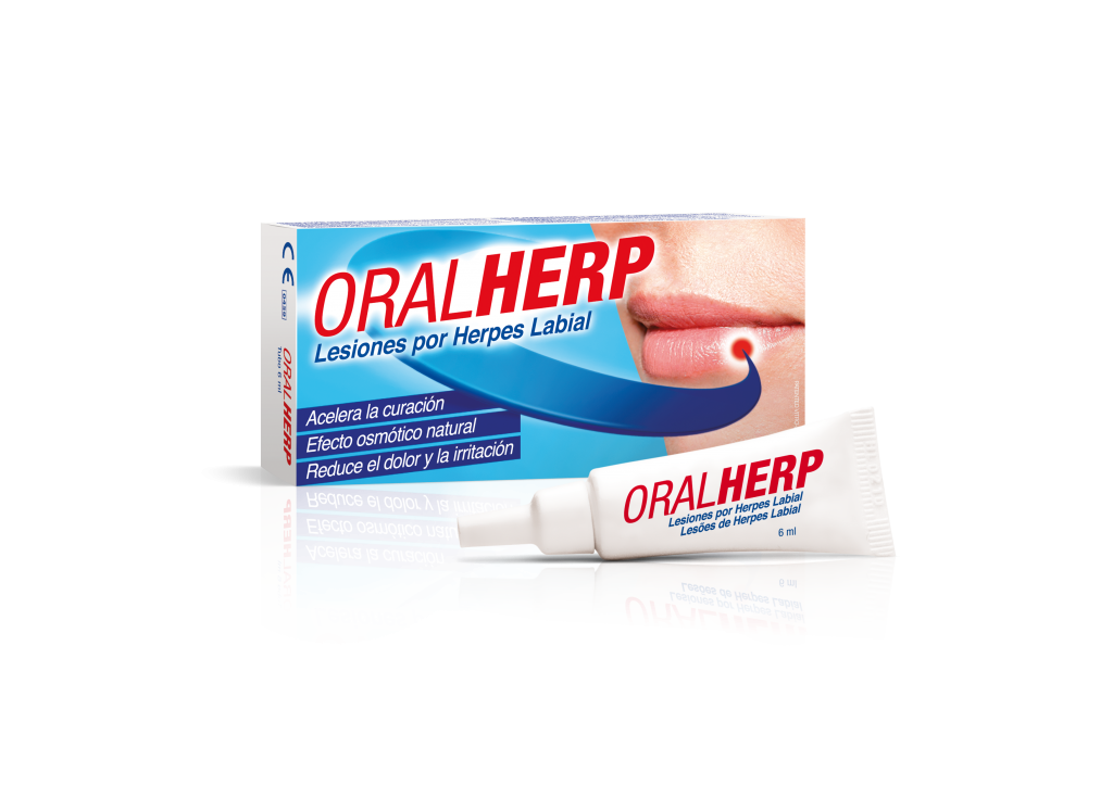 Oralherp 6 ml herpes labial