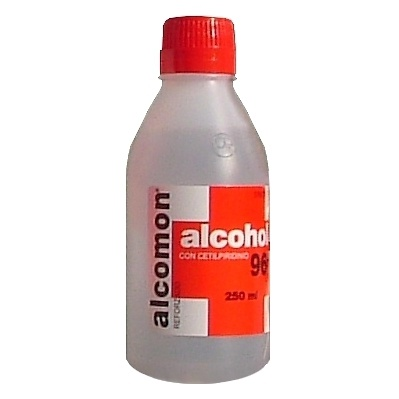 Alcohol Alcomon reforzado 0.96 ml/ml solución tópica 250 ml