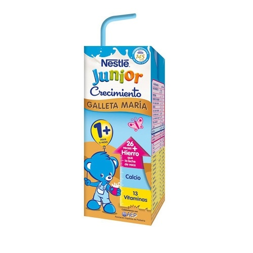 Nestlé Junior Crecimiento Galleta +1 200 Ml x 6U