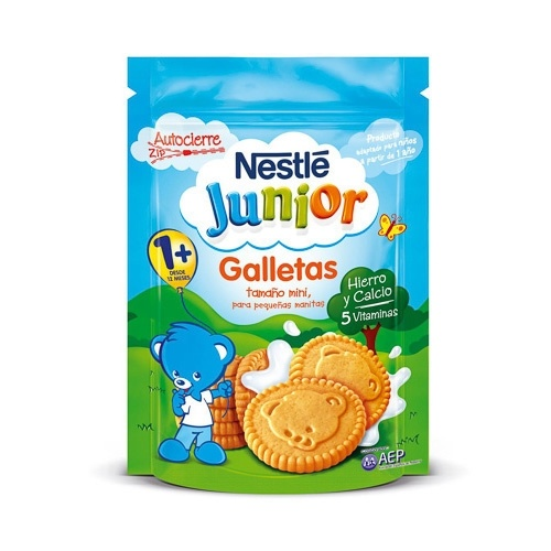 Nestlé Junior Galletas +12 Meses 180 G
