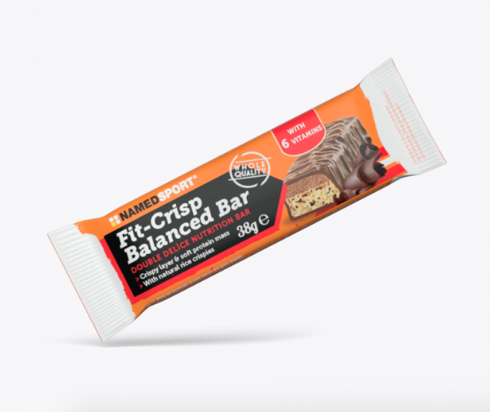 NamedSport Fit Crisp Balanced Bar Barrita Chocolate 38 g