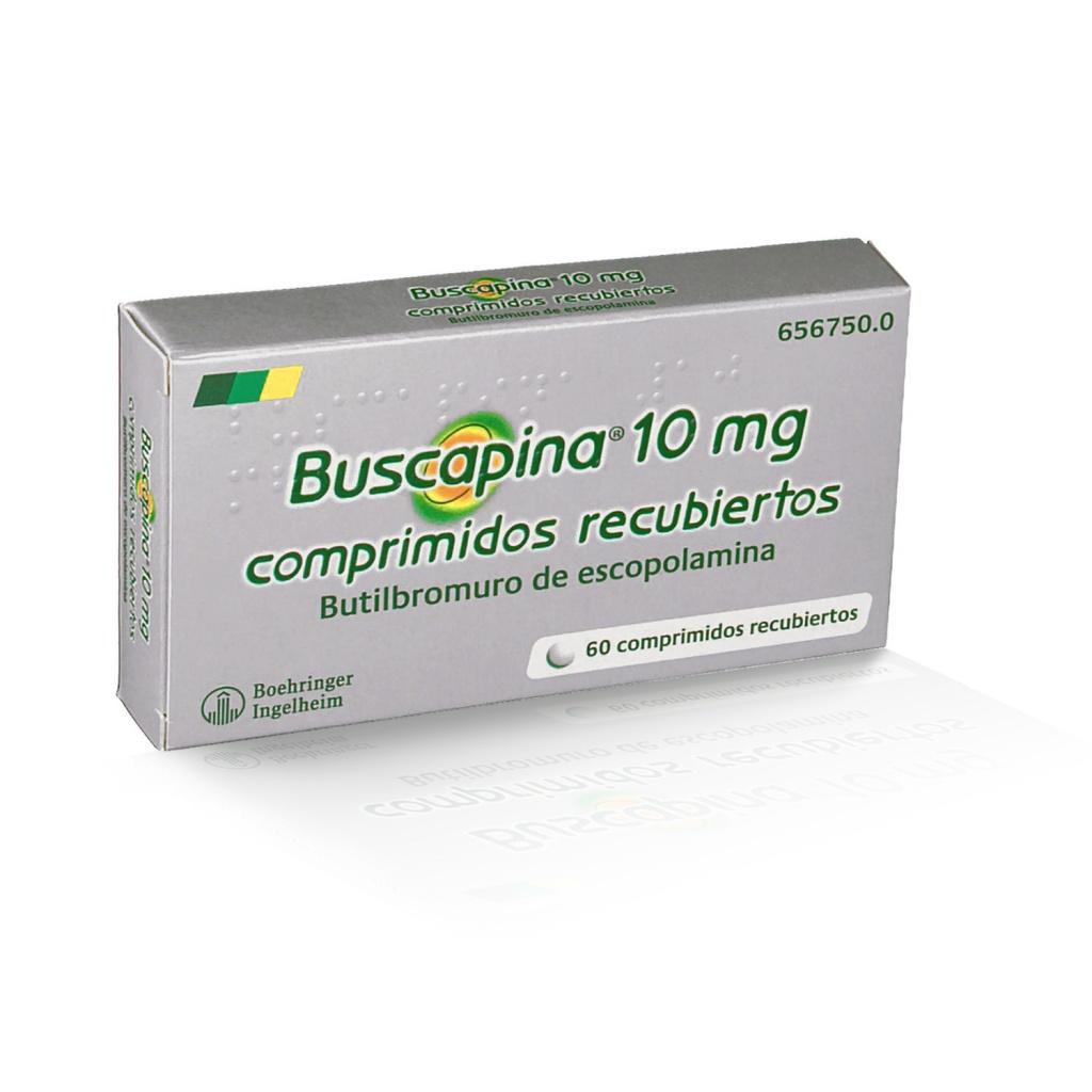 para que se usa la buscapina 10 mg