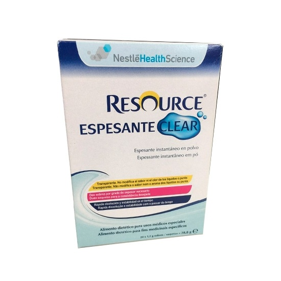 Resource Espesante Clear Neutro 24 Sobres