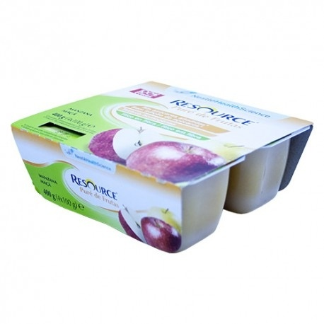 Resource Puré Manzana 4X100 G