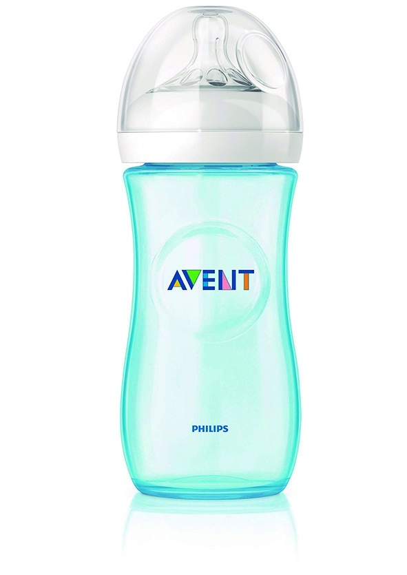 ****Philips Avent biberón natural azul 330ml