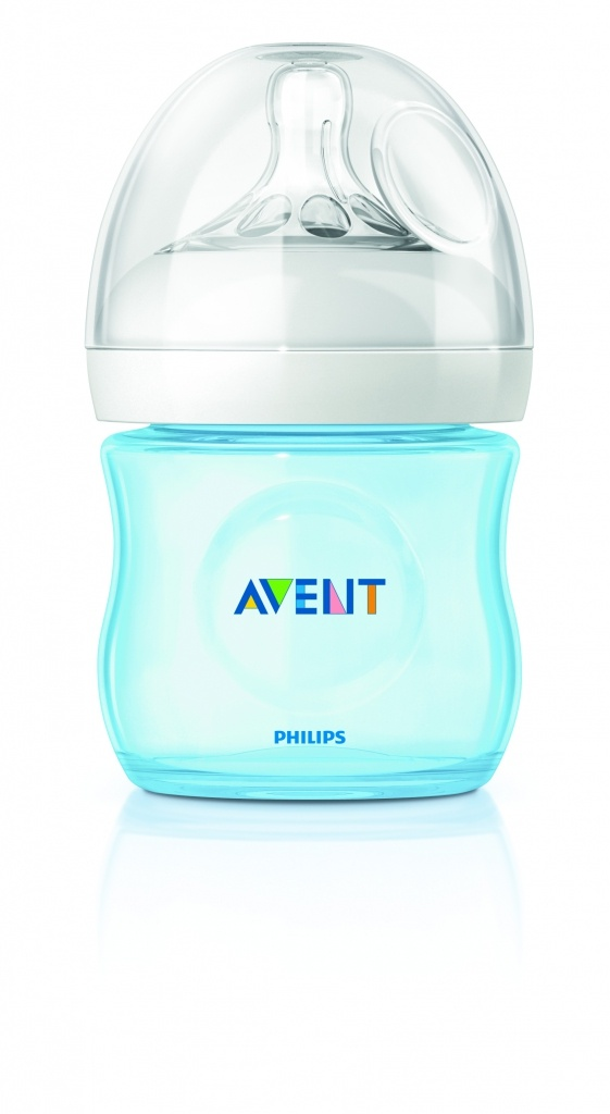 Philips Avent biberón natural azul 125 ml