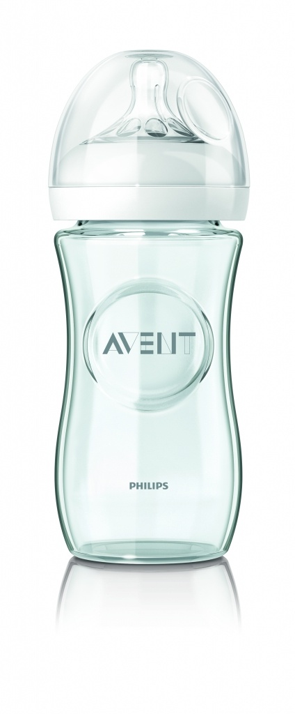 Philips Avent biberón natural cristal 240 ml