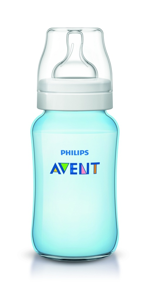 ****Philips Avent biberón clasic azul 330 ml