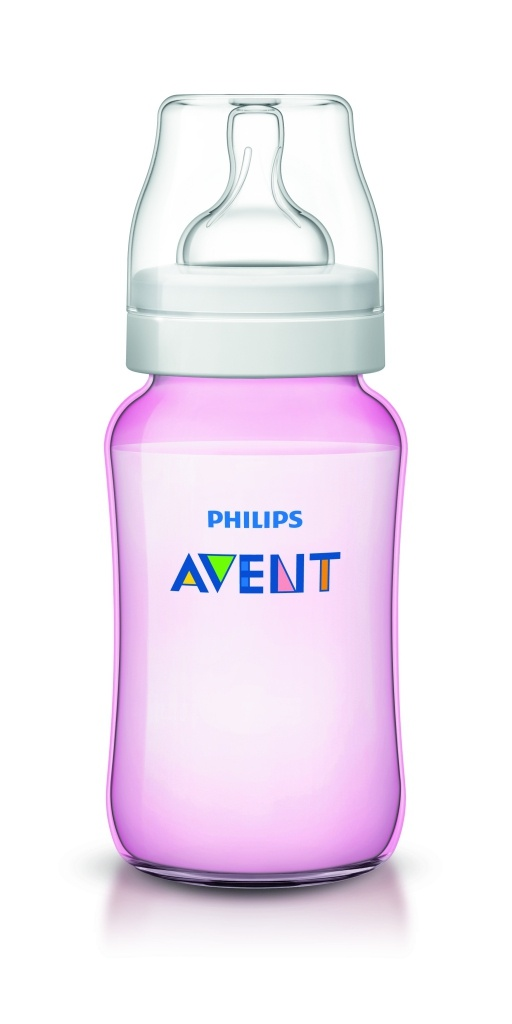 ****Philips Avent biberon clasic rosa 330 ml