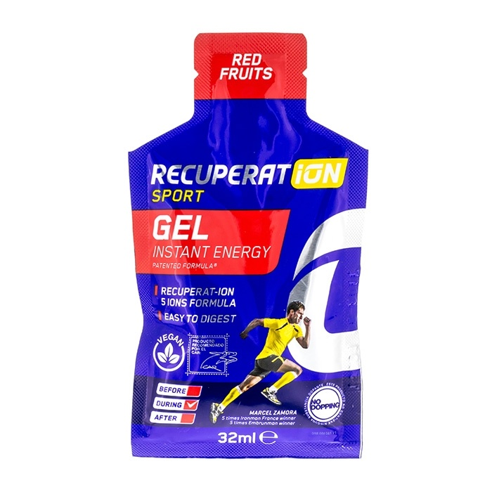 Recuperation Sport Gel Red Fruits 32 Ml