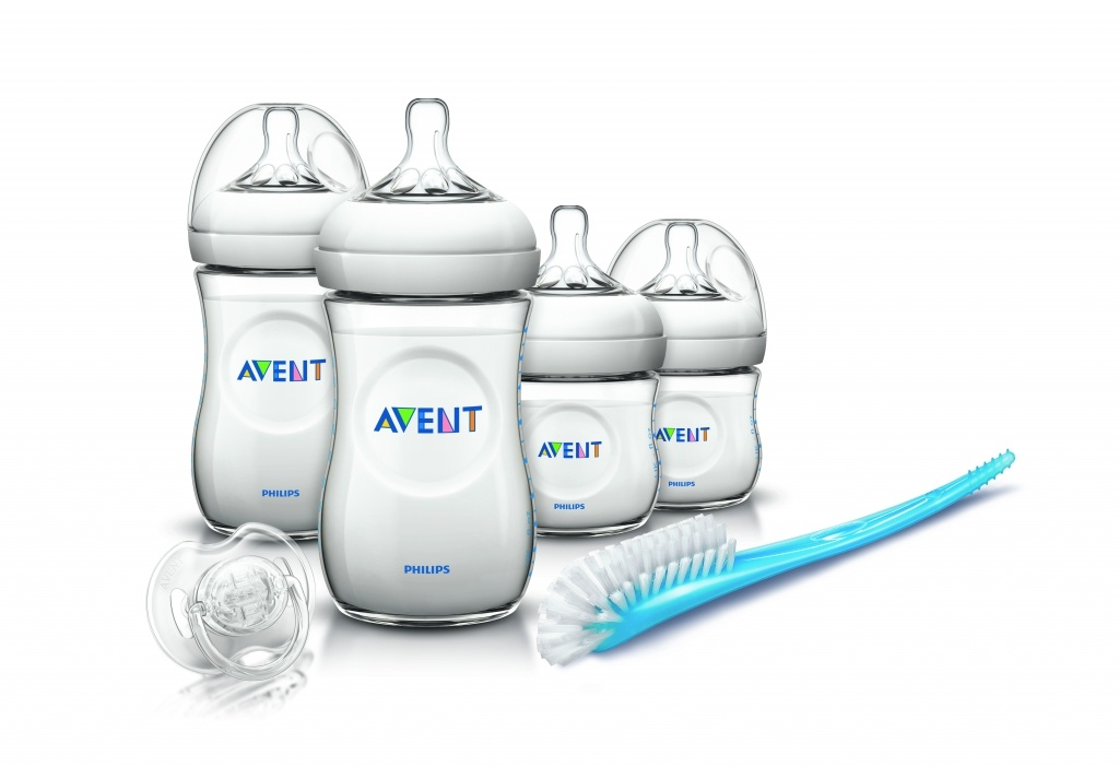 Philips Avent set recién nacido transparente