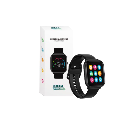 Health & Fitness Smartwatch Premium Black Joccapharma