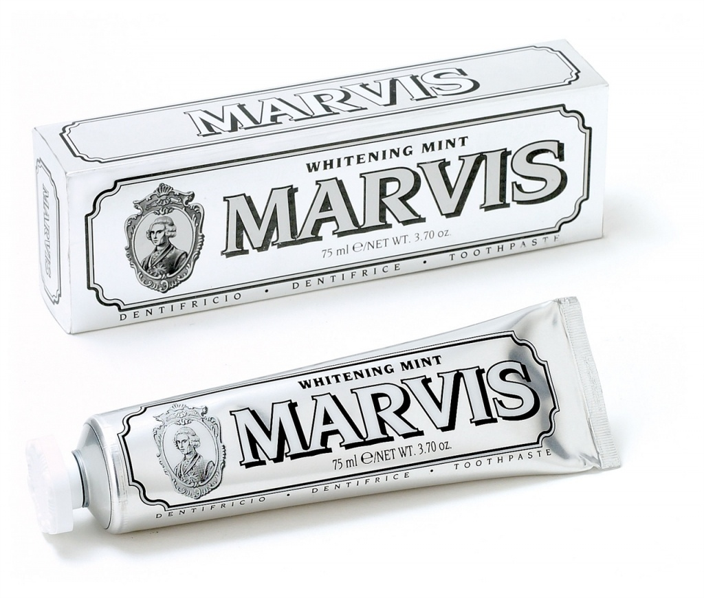 Marvis dentífrico blanqueador mint 85 ml